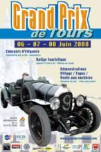 Affiche du Grand Prix de Tours 2008