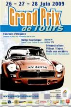 Affiche du Grand Prix de Tours 2009