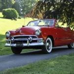 Catégorie Sport, Tourisme, populaire : Ford Cabriolet V8 Custom de 1951