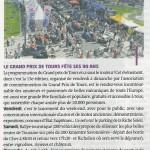 La Tribune de T ours n°205 du 13/06/2013