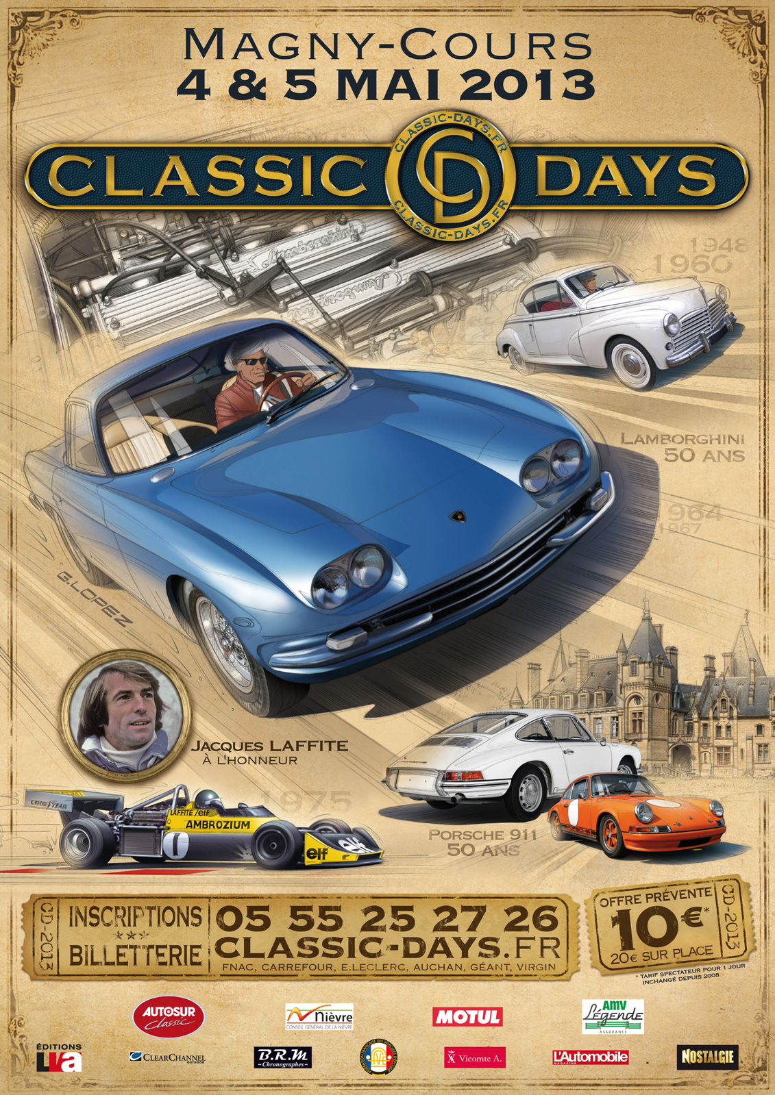 classic days magny cours 4 et 5 mai 2013 grand prix de tours. Black Bedroom Furniture Sets. Home Design Ideas