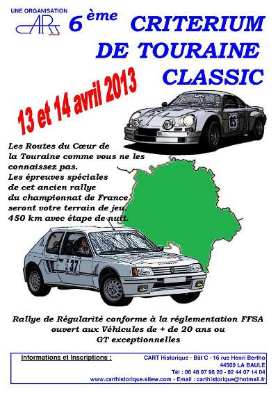 Criterium de Touraine Classique 2013