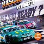 Affiche NASCAR Tours Speedway 2014