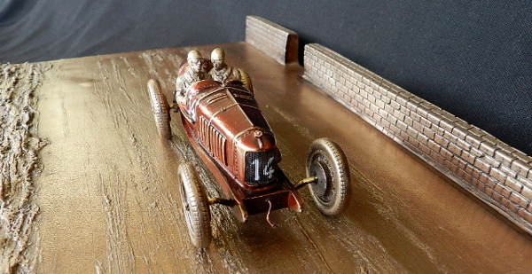 Bronze Fiat 805 1923 Grand Prix de Tours