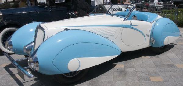 Delahaye 135 Figoni Falashi 1937