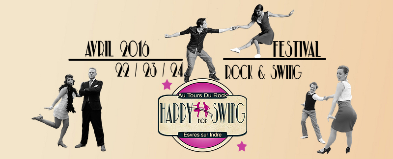 Happy Hop Swing - Au Tours du Rock Esvres-sur-Indre