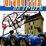 Affiche Grand prix de Tours 2016 dédicacée par Jean Ragnotti