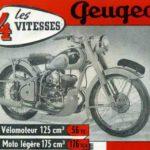 Peugeot 125cc année 1952 type 56TC velomoteur