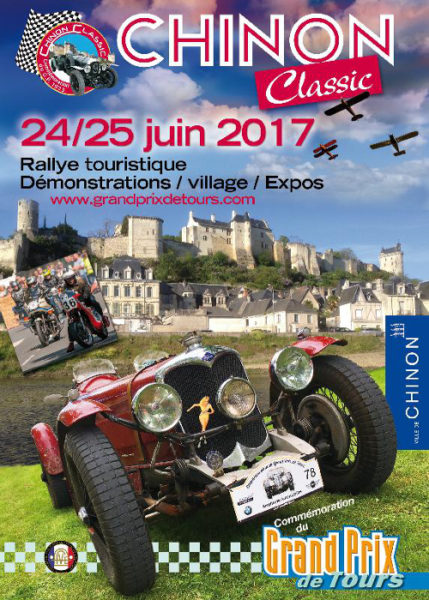Flyer Recto du Chinon Classic 2017