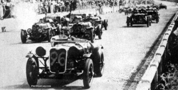 Singer 1.5 Litres Le Mans 1500 24h Le Mans 1934
