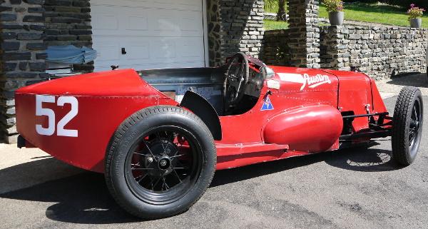 Austin Seven Spécial de 1929 à l'affiche du Grand Prix de Tours