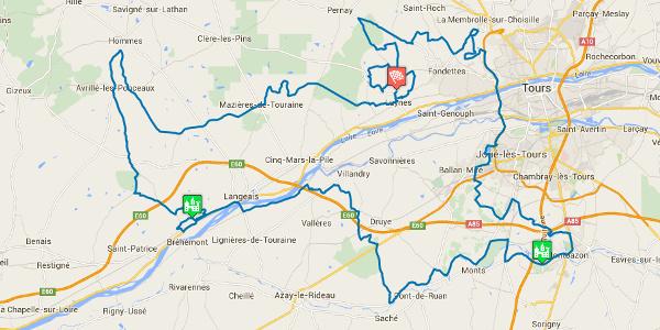 Le tracé du Rallye Touristique 2015 est dévoilé