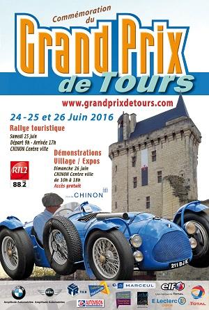 Affiche du Grand Prix de Tours 2016