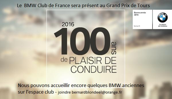 100 ans BMW - BMW Club de France 2016