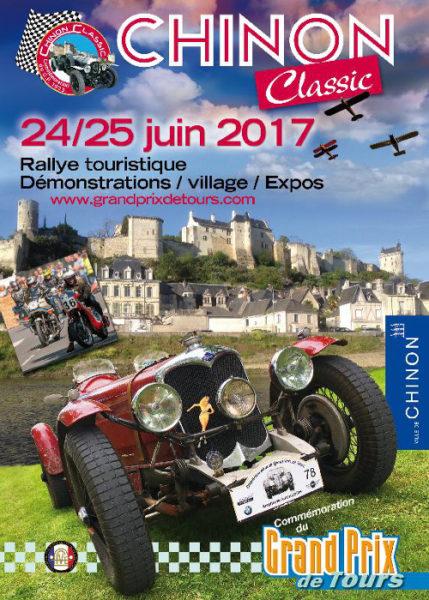 Flyer Recto du Chinon Classic 2017