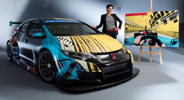 Honda Art Car Michel Vaillant